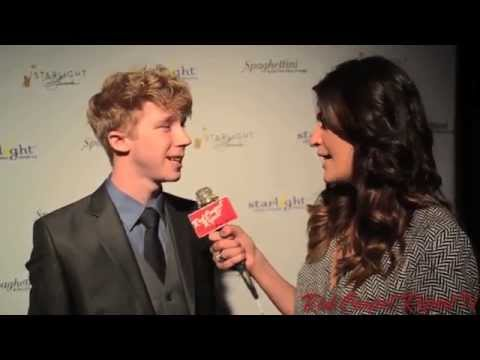 Joey Luthman at the Starlight Awards starlightawards