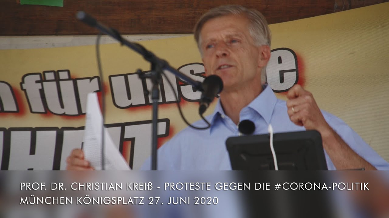 Prof. Christian Kreiß: 'Merkel, Journalisten, hören Sie auf mit dieser Tatsachenverdrehung!' #Corona