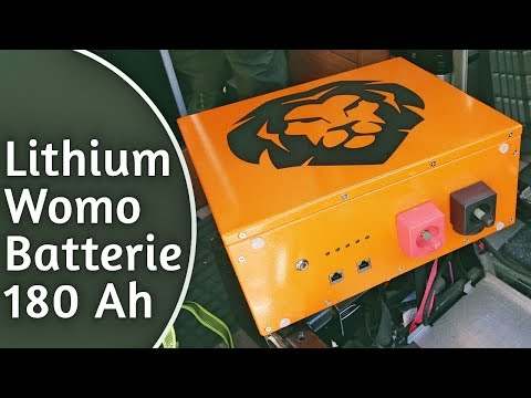 Ausgetauscht! AGM Gegen 180Ah Lithium LiFePo4 Batterie Im Ducato Kastenwagen & Wohnmobil