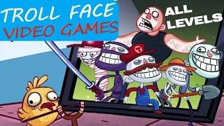 Troll FACE Quest Video Games Walkthrough (ALL LEVELS)
