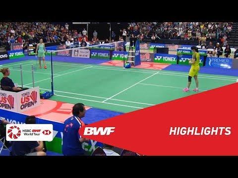 2018 Yonex US Open | Badminton WS - F - Highlights | BWF 2018
