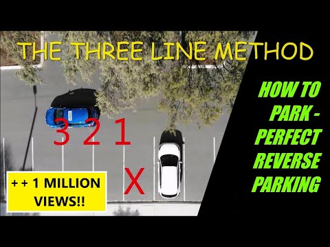 How to Reverse Park - PERFECT REVERSE PARKING EVERY TIME!!