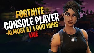 [LIVE] PS4 Fortnite Pro Console Player |Fast Console Builder|22k+ kills 910+ WINS!!! #soarrc