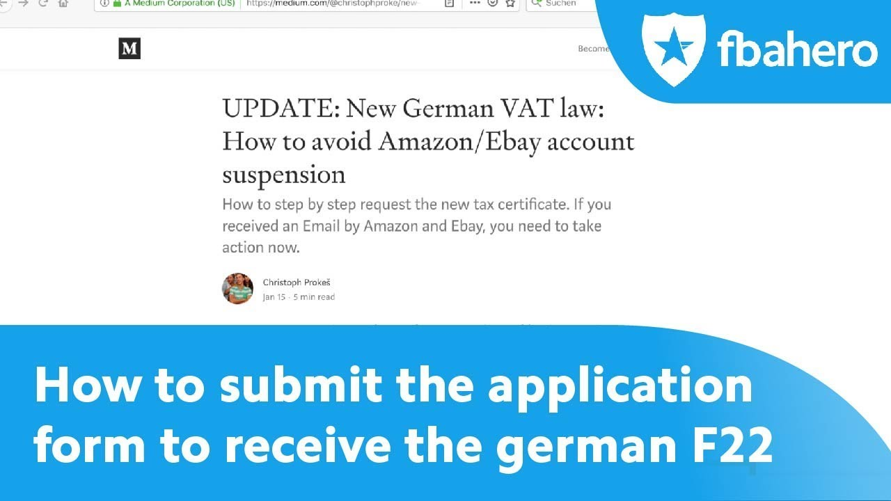 Application Form German Passport, How To Submit The Application Form To Receive The German F22 Step By Step, Application Form German Passport