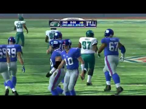 Madden NFL 09 PS3 Collectors Edition Eagles vs Giants
