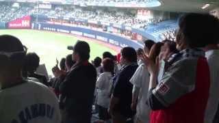 【大阪CLASSIC2013】近鉄バファローズ復刻 安達俊也選手応援歌 20130420