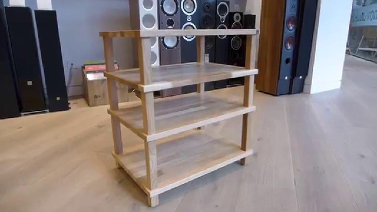 Hi Fi Racks Podium Slimline Mueble Furniture Youtube
