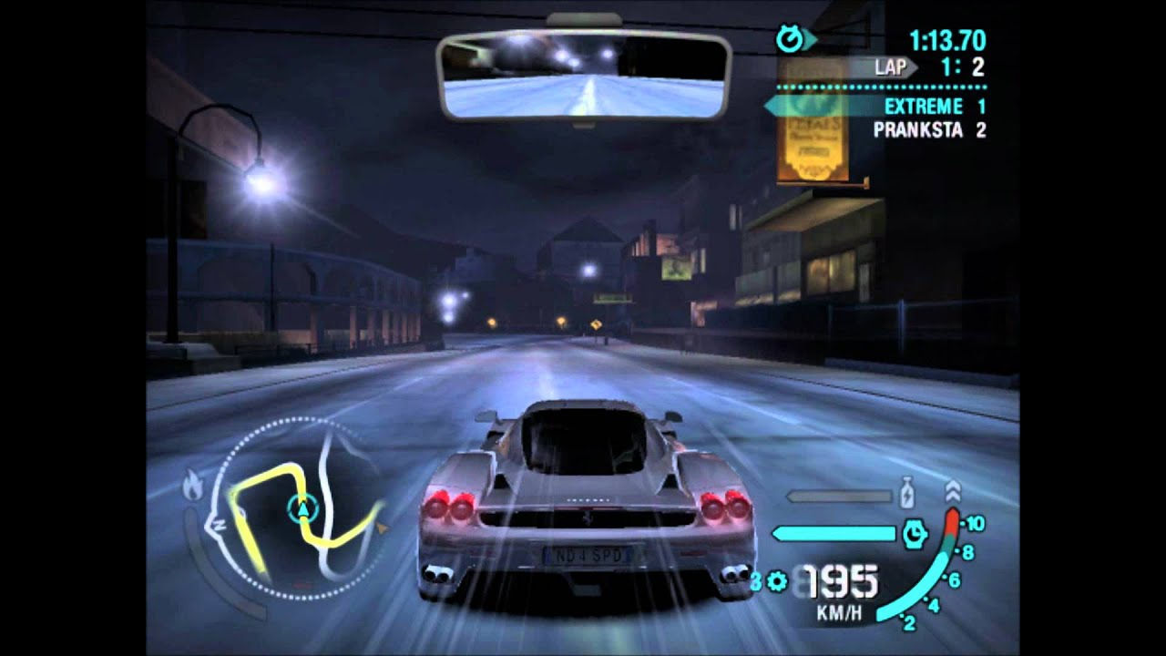 Nfs Carbon Ferrari Enzo Vs Mitsubishi Evo Ix Hd Youtube