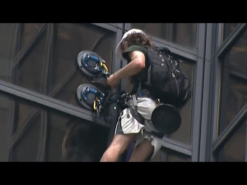 How a climber used suction cups to climb Trump Tower