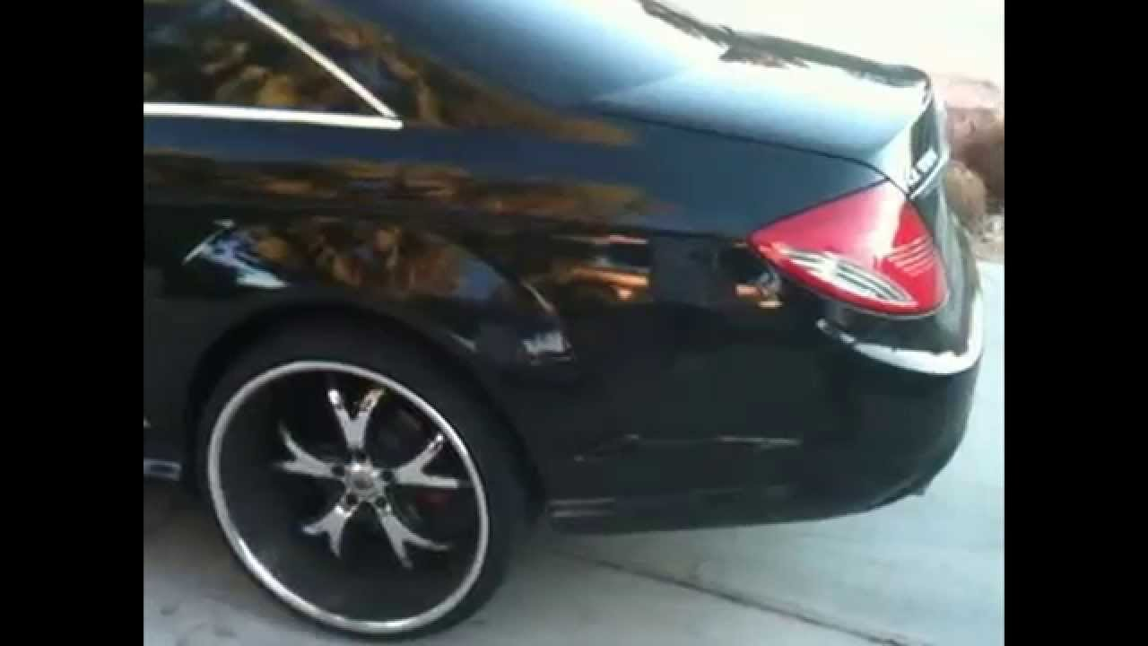 2010 mercedes cl550 w 24 inch asanti rims youtube for 24 inch mercedes benz rims