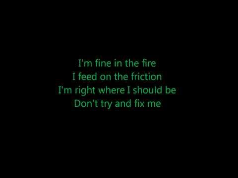 10 years- Fix me (Acoustic) lyrics