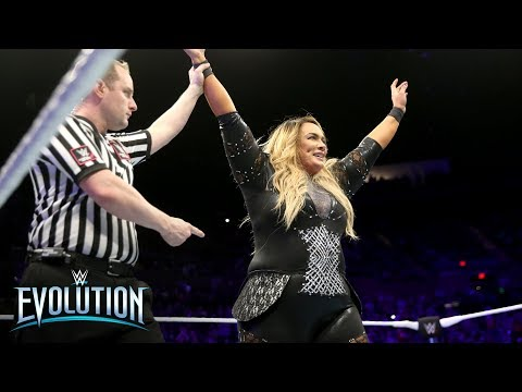 Nia Jax wins the Women's Battle Royal: WWE Evolution 2018 (WWE Network Exclusive)