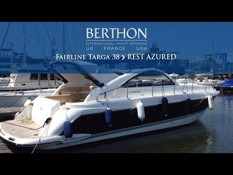 [OFF MARKET] Fairline Targa 38 (REST AZURED) - Yacht for Sale - Berthon International Yacht Brokers