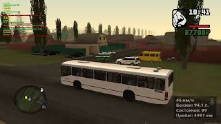 Иная жизнь на «GTA Province» #3 | Трудимся на автобусах