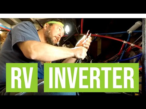 RV Inverter Install For Full Time RV Life | Changing Lanes!