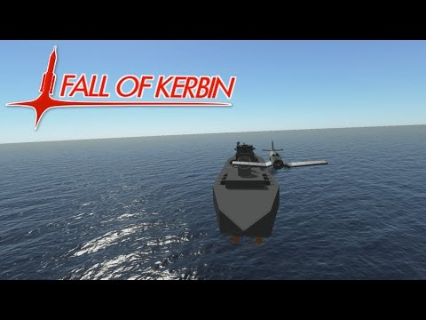 Fall Of Kerbin #15 - Sink The Vulduv! - Kerbal Space Program