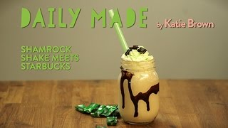 Make Your Own Shamrock Shake- Daily Made on Yahoo Makers