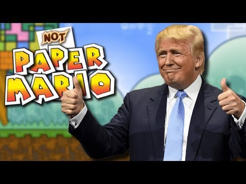 NOT PAPER MARIO