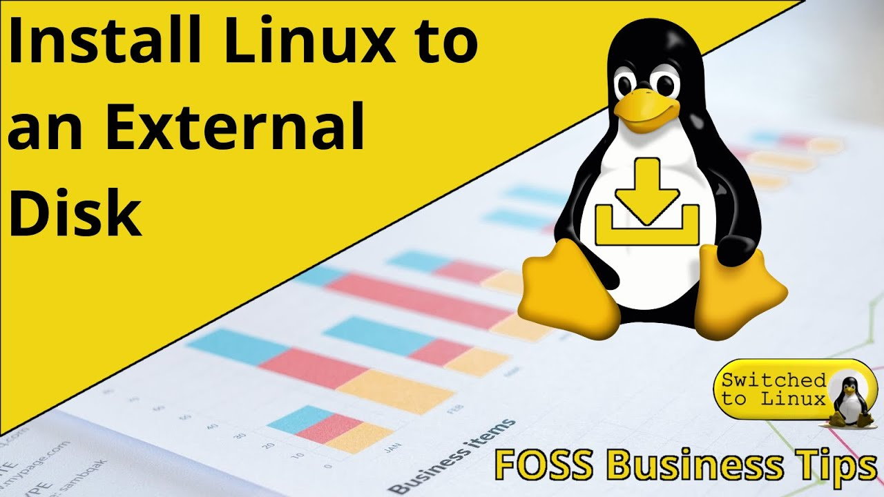 Install Linux Safely to an External Drive