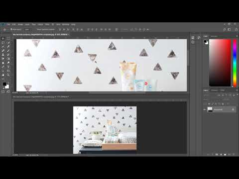 Photoshop Tutorial: How to work with two documents at the same time thumbnail