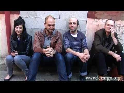 Playing Carver - Interview (John Parish, Marta Collica, Atlas Crocodile & Gaspard LaNuit)