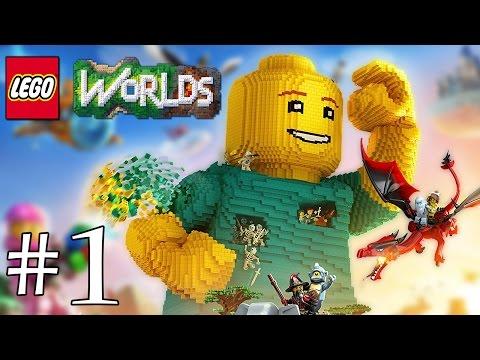 On y retourne! LEGO Worlds FR #1