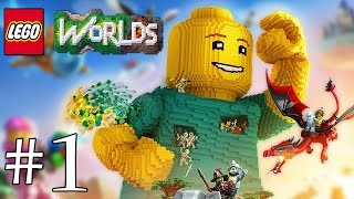 On y retourne! LEGO Worlds FR #1
