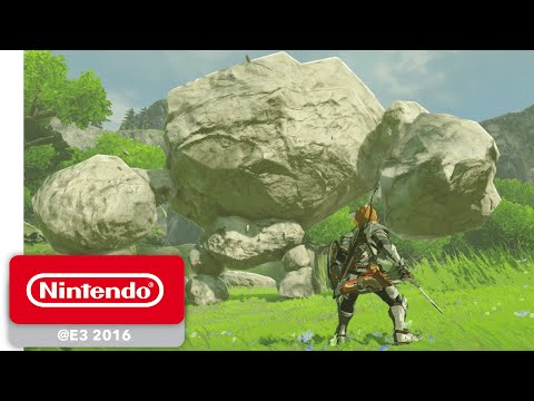 Thumbnail: The Legend of Zelda: Breath of the Wild - Official Game Trailer - Nintendo E3 2016