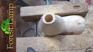 КАК СДЕЛАТЬ Необычный светильник доделка после ЧПУ.Wood .woodwork.CNC .DIY Marnin / Марнин реплика.