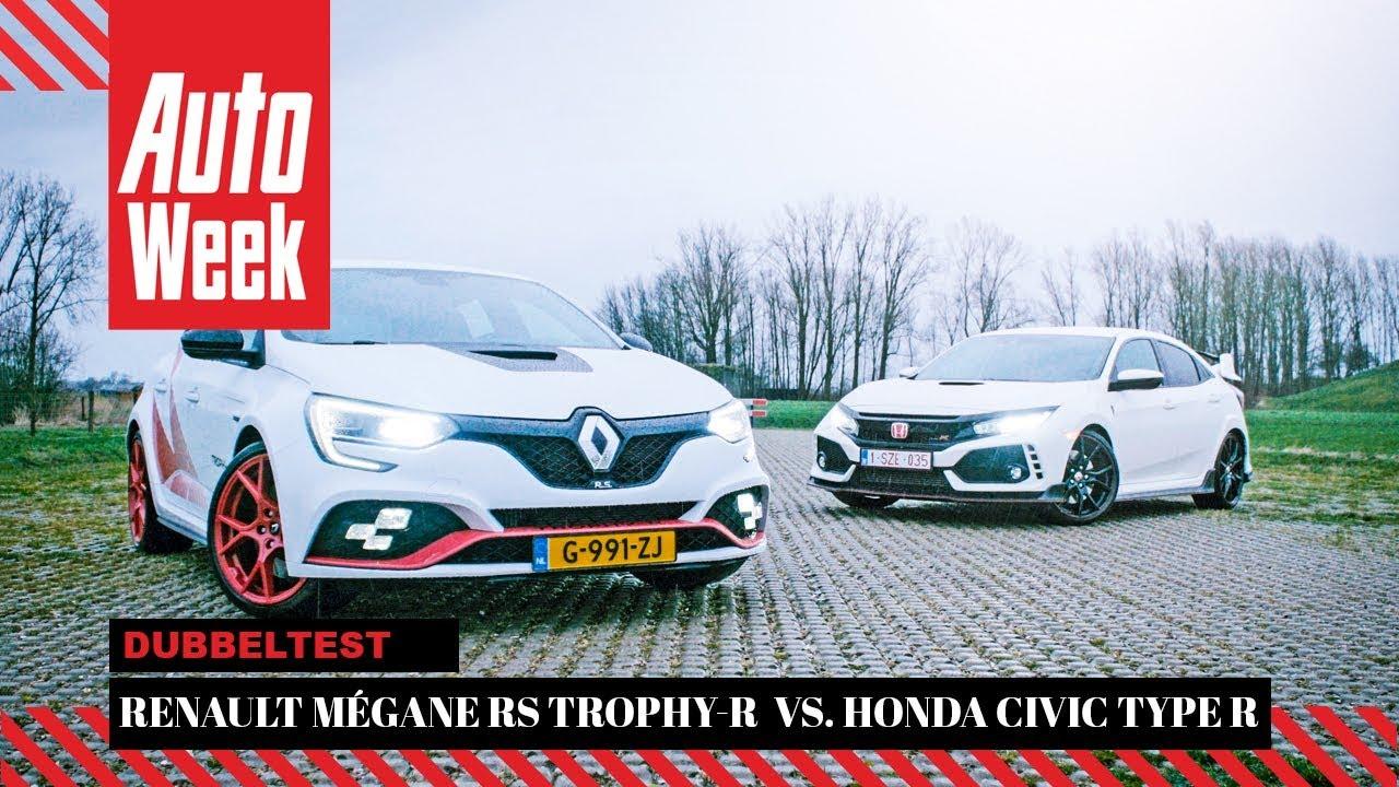 Renault Mégane RS Trophy-R vs. Honda Civic Type R ...