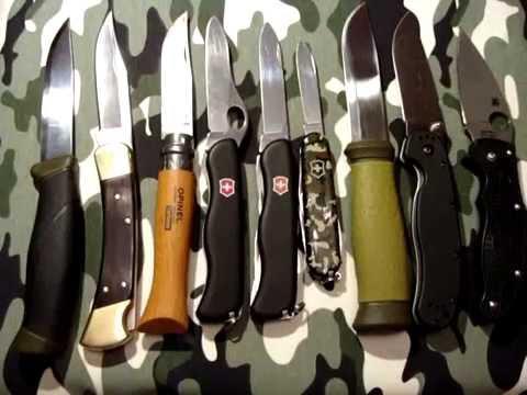 Как выбрать нож. Топ 5 параметров при выборе ножа.
