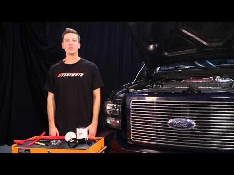 Mishimoto Red Coolant Filter Kit For 2008-2010 Ford 6.4 Powerstroke Diesel