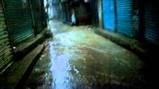 Sukkur Heavy Rain Old Sukkur Shahi Bazar Like Flood