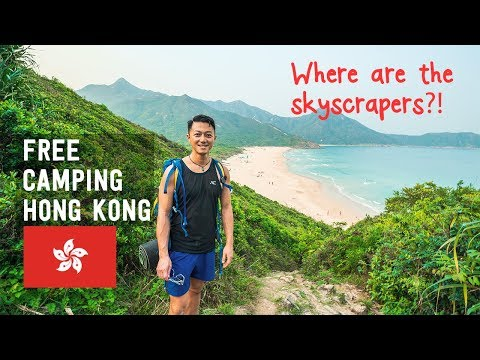 free-camping-on-hong-kong's-best-beach-(sai-kung)