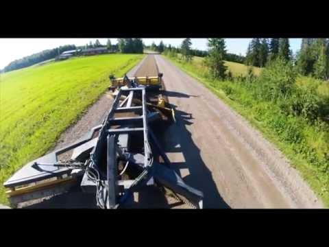Работа На Тракторе Т-40АМ и МТЗ 82.1 - YouTube