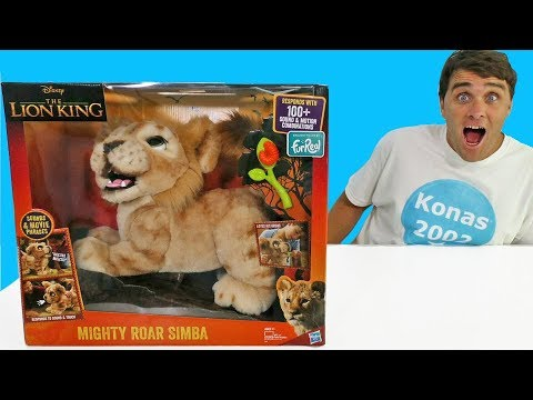 The Lion King Mighty Roar Simba ! || Disney Toy Review || Konas2002