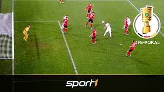 Streich fliegt gegen Angstgegner raus: Freiburg - Union 1:3 | Highlights | DFB-Pokal 2019 | SPORT1