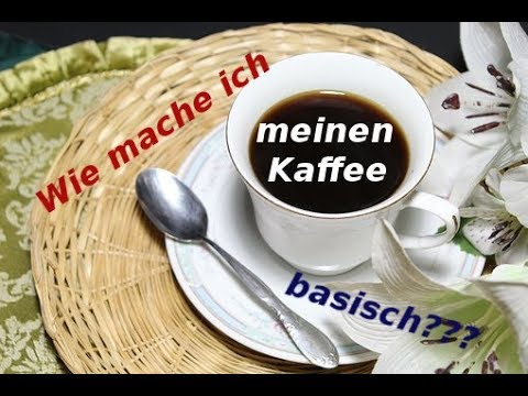 geniales altes hausmittel mit natron den kaffee basisch machen live test wirkung. Black Bedroom Furniture Sets. Home Design Ideas