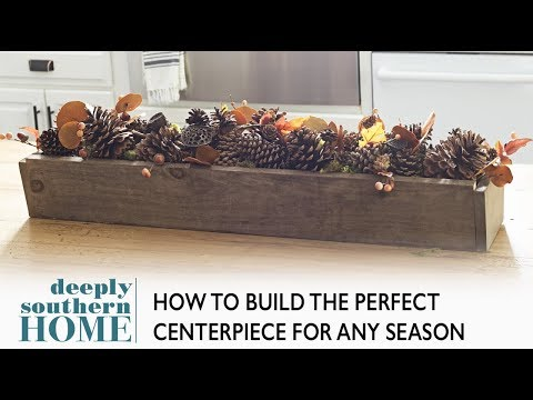 How to build a Wooden Centerpiece Planter