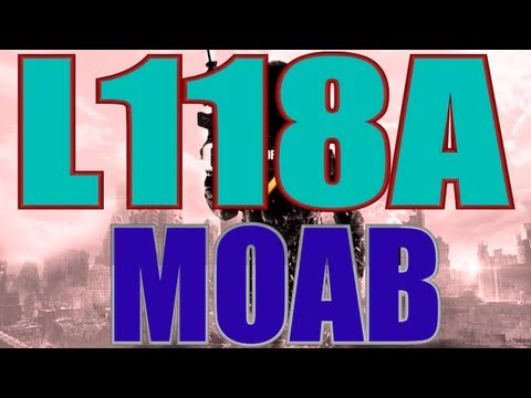 MW3 | MOAB with Every Gun - L118a MOAB