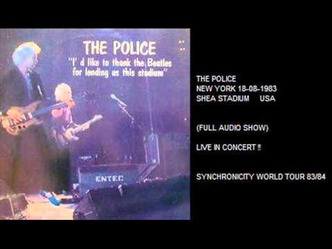"THE POLICE - New York 18-08-1983 ""Shea Stadium"" USA (FULL AUDIO SHOW)"