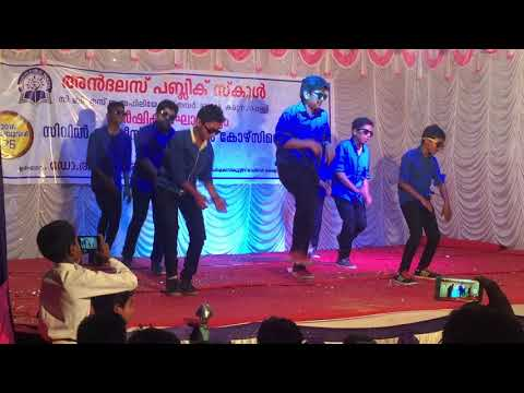 Senior  boys dance