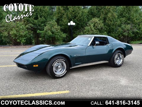 1974 Big Block 4-speed Corvette Stingray For Sale At Coyote Classics!!