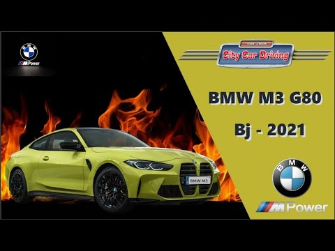 City Car Driving 1.5.9 - BMW M3 (G80) - 2021