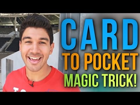 Free Magic Card Trick Revealed: Learn The Card To Pocket Trick!