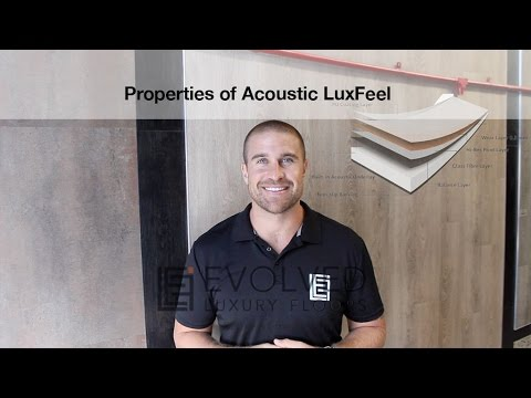What Properties does Acoustic LuxFeel have that can help You? Reducing Impact Noise