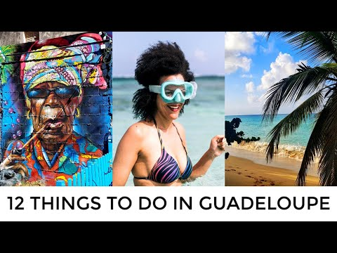 12 Things To Do in Guadeloupe, French Caribbean - From Paragliding, Crystal Beaches to Street Art