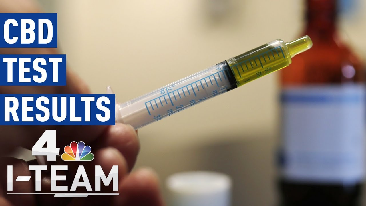 CBD Product Tests: Results Can Be Alarming | NBC 4 I-Team