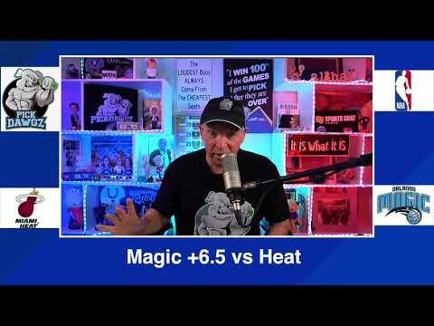 Orlando Magic vs Miami Heat 3/14:21 Free NBA Pick and Prediction NBA Betting Tips