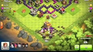 Clash of Clans Tesla Trolling